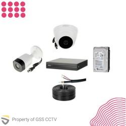 Paket StartUP 2MP 1 Kamera