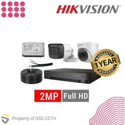 Paket Hikvision 2MP Full HD 4 Kamera
