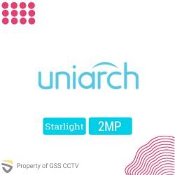 Paket Instalasi Uniarch IP Camera 2MP Starlight - 1 kamera